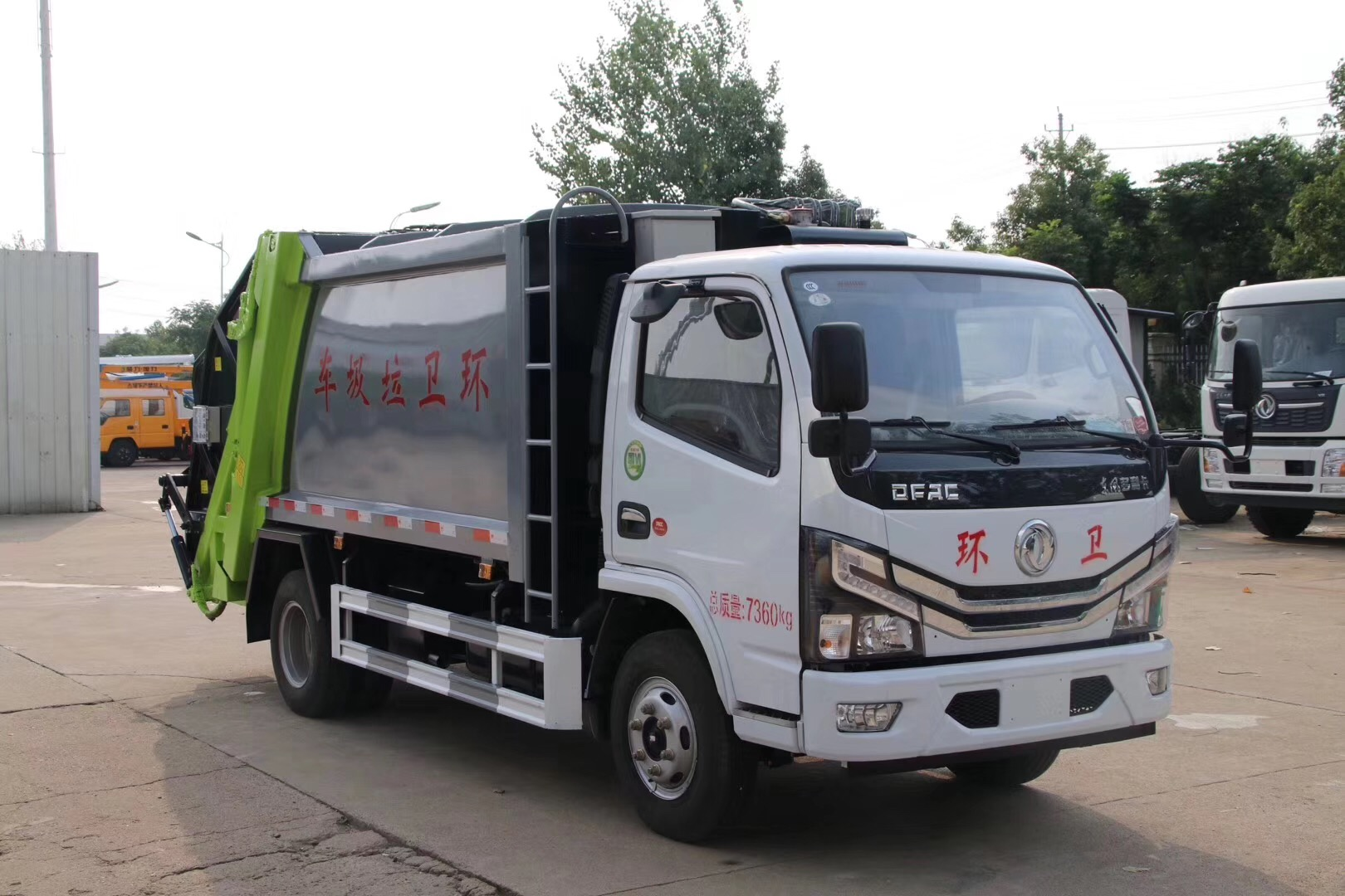 国六・东风多利卡【6方】压缩垃圾车