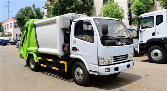 东风小多利卡6方压缩垃圾车(后翻转可选挂桶、三角斗)